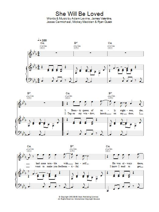 Sheet Music Digital Files To Print Licensed Maroon 5 Digital Sheet