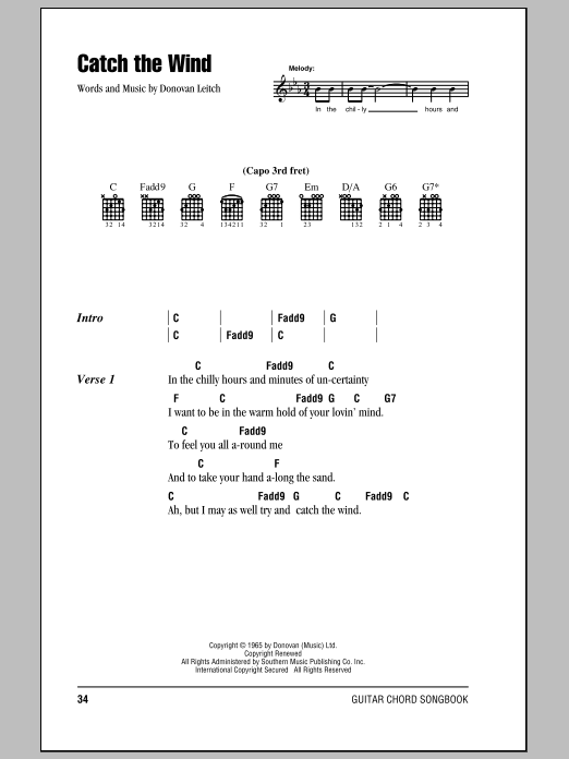 Sheet Music Digital Files To Print Licensed Donovan Digital Sheet