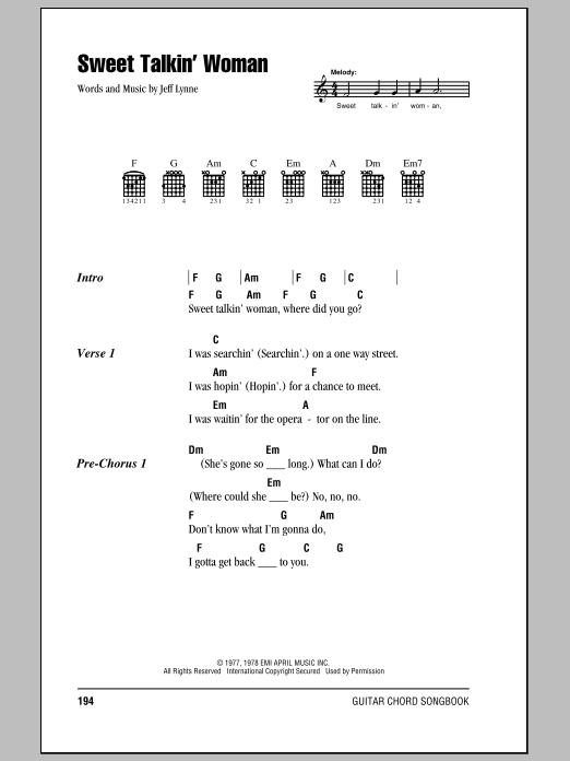 Sheet Music Digital Files To Print Licensed Jeff Lynne Digital