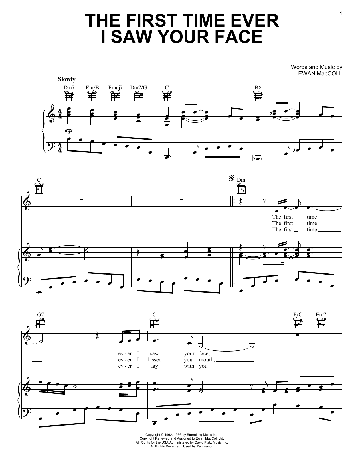 sign of the times sheet music pdf