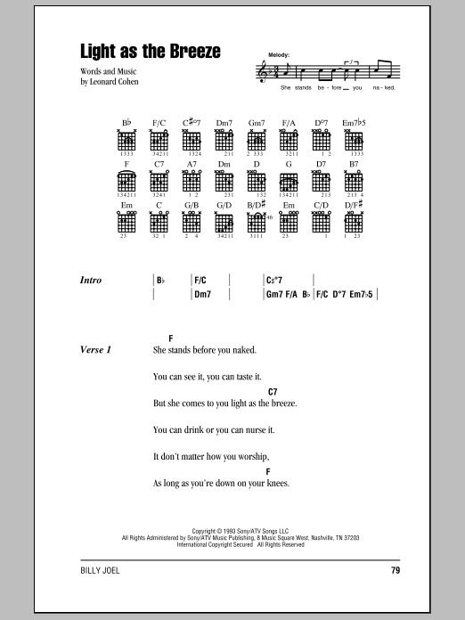 Sheet Music Digital Files To Print Licensed Leonard Cohen Digital