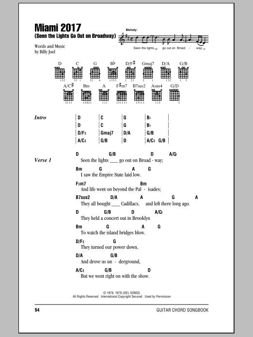 Sheet Music Digital Files To Print - Licensed Billy Joel Digital ...