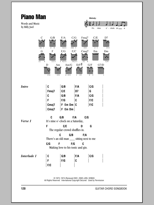 Oldies from A to Z guitar chords and lyrics