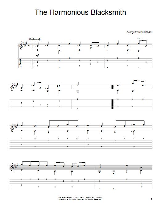 George Frideric Handel: The Harmonious Blacksmith