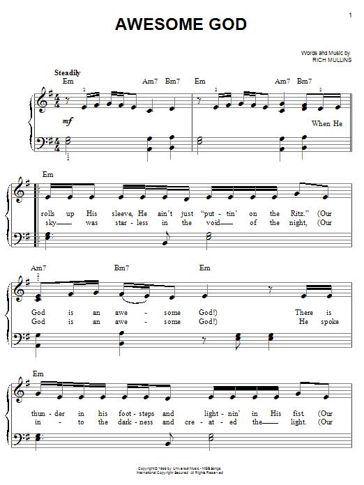 Sheet Music Digital Files To Print Licensed Rich Mullins Digital