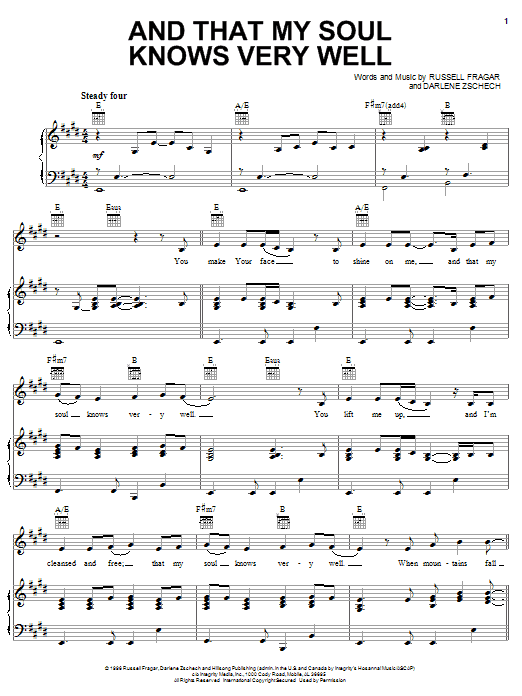 it is well with my soul hillsong sheet music pdf