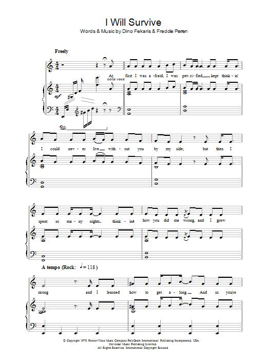 Sheet Music Digital Files To Print - Licensed Dino Fekaris Digital ...