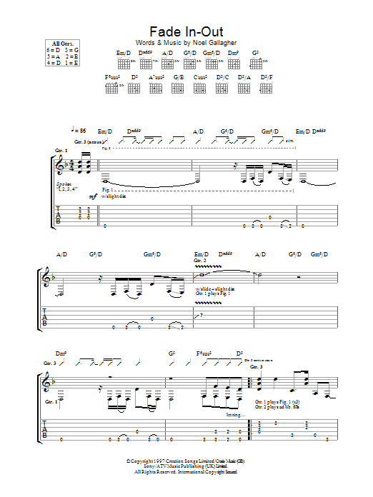 Sex on fire tab pdf