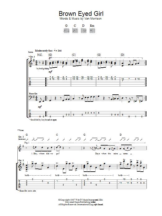 Sheet Music Digital Files To Print - Licensed Van Morrison Digital ...