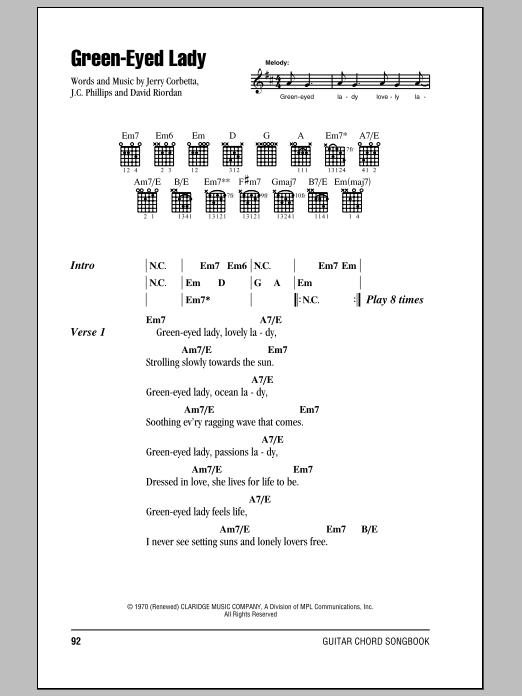 brown eyed girl lead sheet pdf