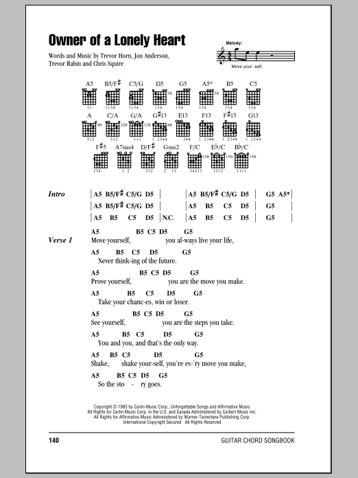 Sheet Music Digital Files To Print - Licensed Trevor Horn Digital ...