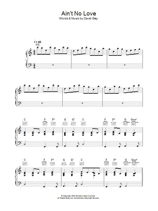David gray guitar chords