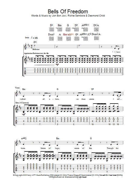 Bon Jovi - Bells of Freedom - YouTube