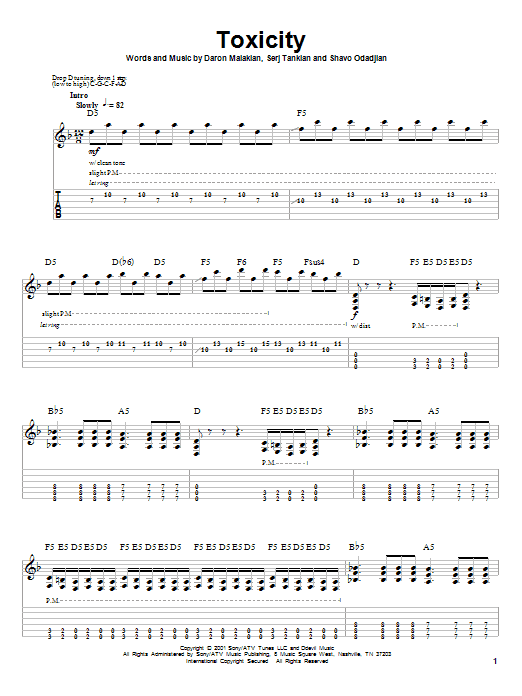 Roulette guitar solo tab
