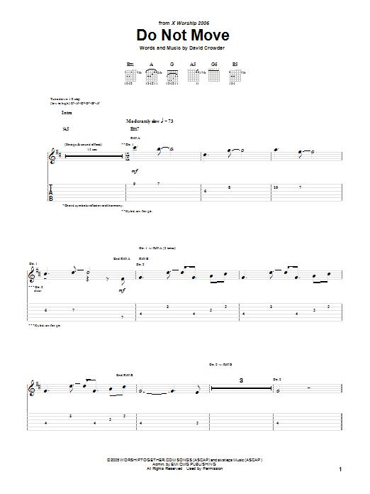 David Crowder Band - Do Not Move