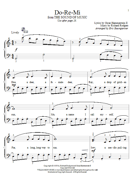 Sheet Music Digital Files To Print Licensed Oscar Hammerstein Ii