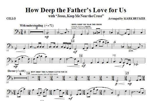 How Deep The Father\'s Love For Us (with Jesus Keep Me Near The Cross)
