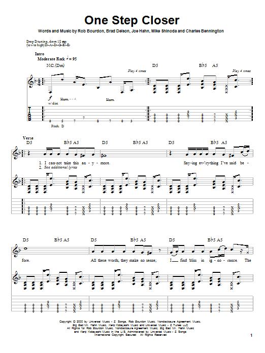 Sheet Music Digital Files To Print Licensed Linkin Park Digital