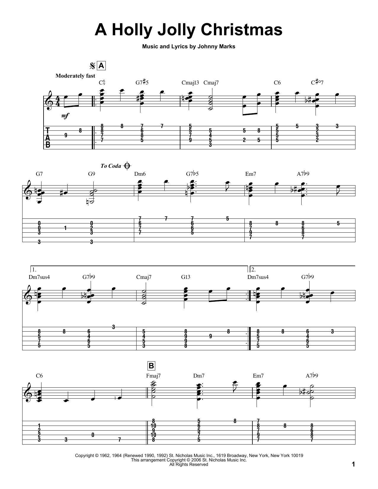 christmas songs jolly old saint nicholas