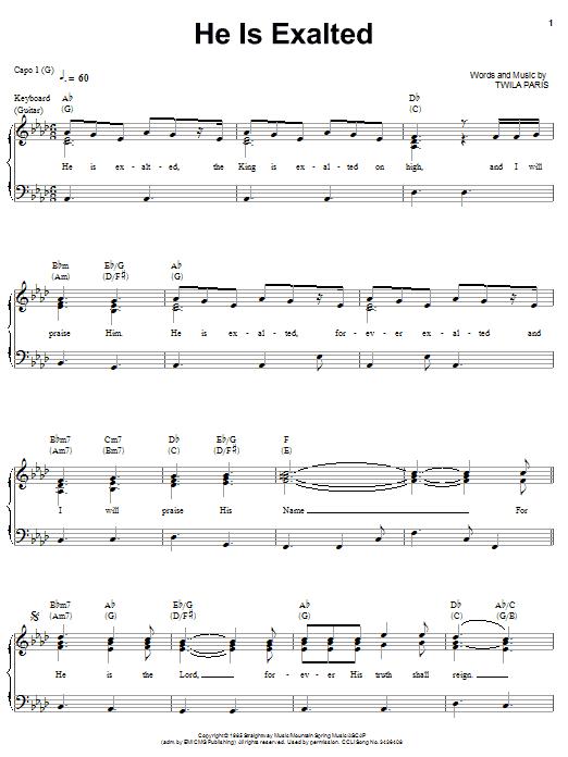 Sheet Music Digital Files To Print Licensed Twila Paris Digital
