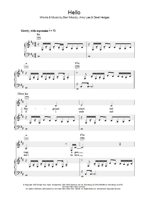 Piano : piano tabs hello Piano Tabs , Piano Tabs Hellou201a Piano
