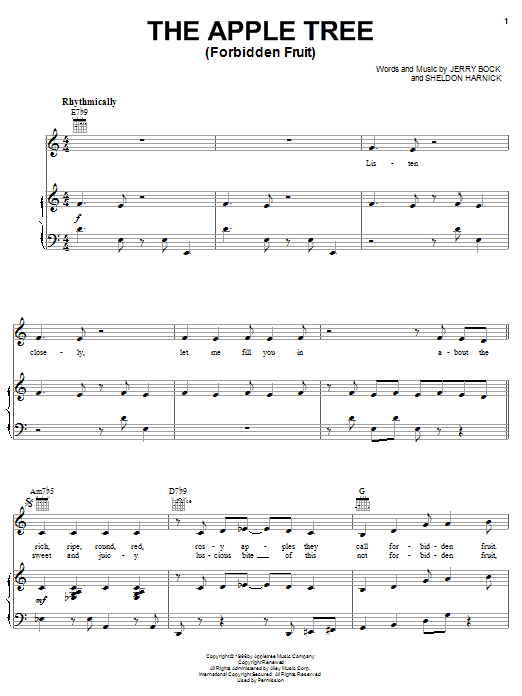 Jesus Christ The Apple Tree Lyrics - Song Lyrics | MetroLyrics