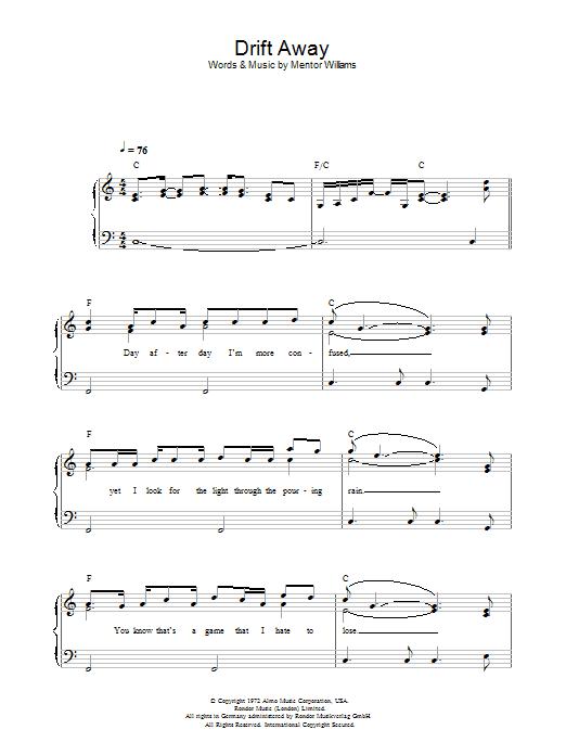 Sheet Music Digital Files To Print - Licensed Dobie Gray Digital ...