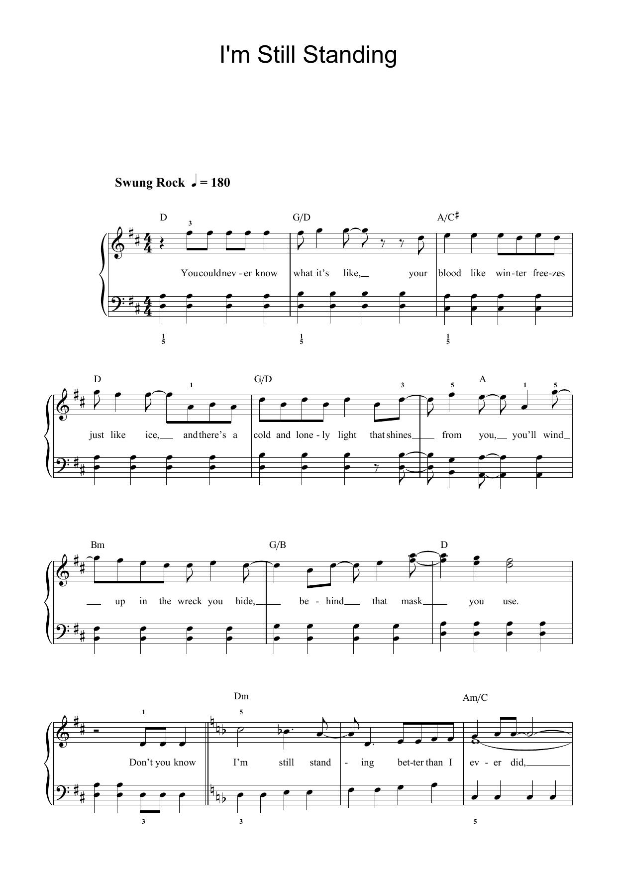 Shakira guitar chords