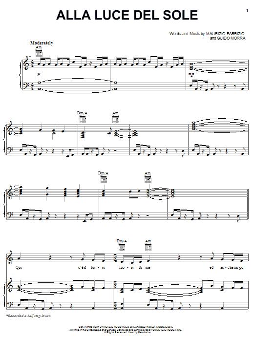 Sheet Music Digital Files To Print Licensed Maurizio Fabrizio