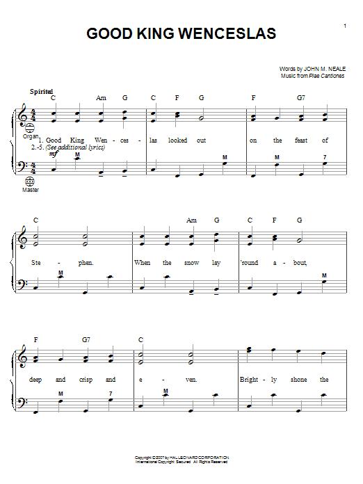 Partition autre Good King Wenceslas de Gary Meisner - Accordeon