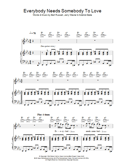 Sheet Music Digital Files To Print - Licensed Jerry Wexler Digital ...