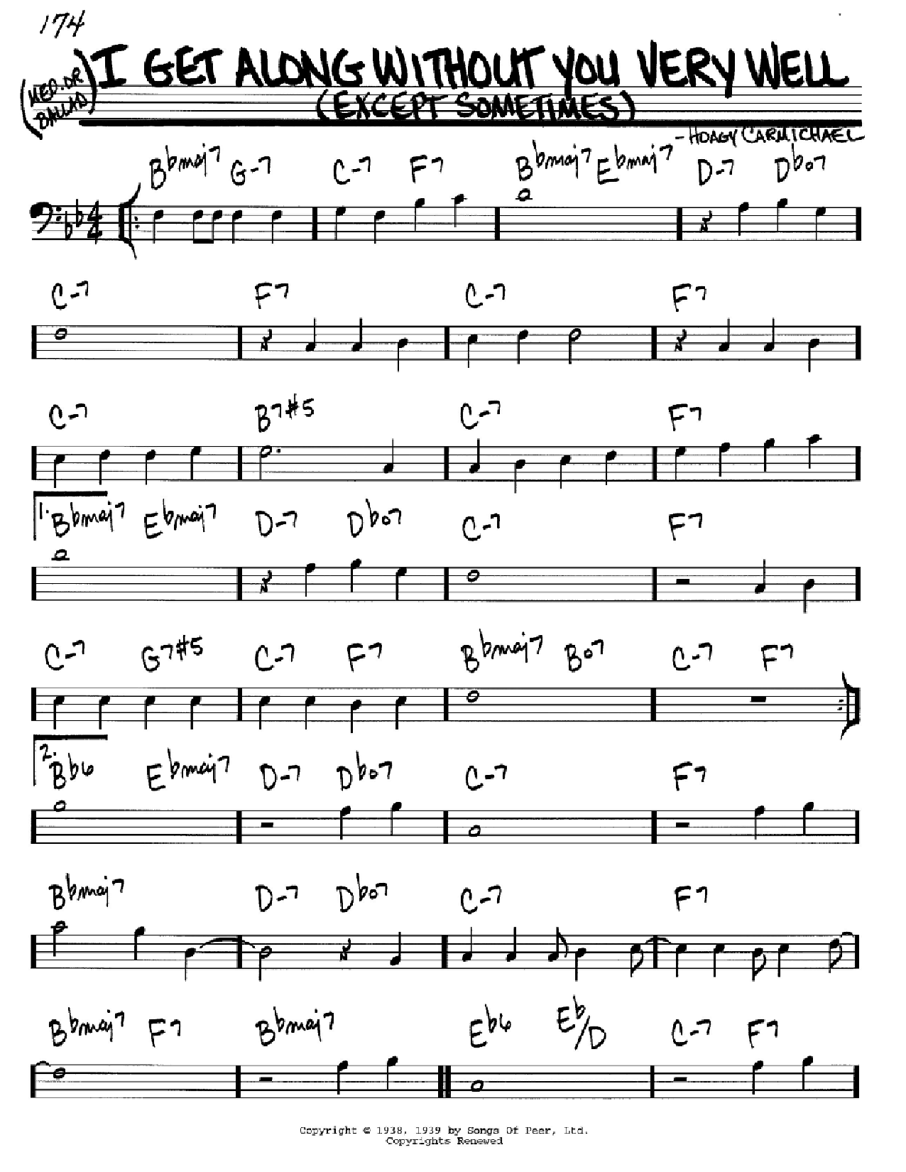 body and soul tenor sax fake book pdf