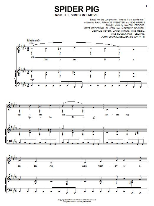 Sheet Music Digital Files To Print - Licensed Bob Harris Digital ...