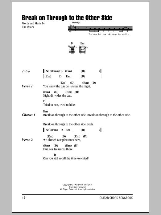 Peace Frog by The Doors - Hal Leonard - Prima Music