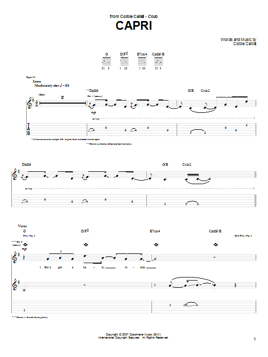 Sheet Music Digital Files To Print Licensed Colbie Caillat Digital