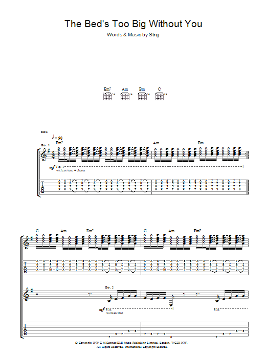 westworld fake plastic trees sheet music pdf