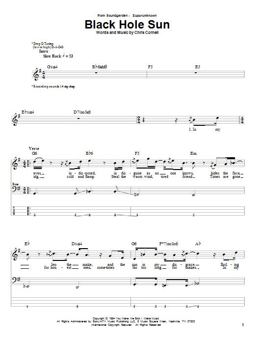 Soundgarden Tabs Pdf