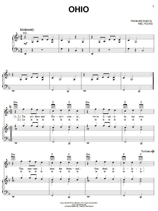 Sheet Music Digital Files To Print Licensed Crosby Stills Nash