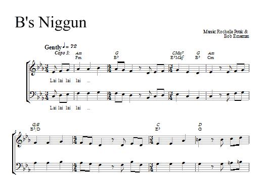 Partition chorale B's Nign de Shir Harmony - 2 voix