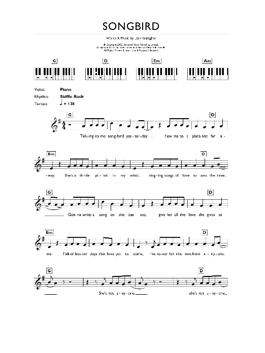 Sheet Music Digital Files To Print Licensed Oasis Digital Sheet Music