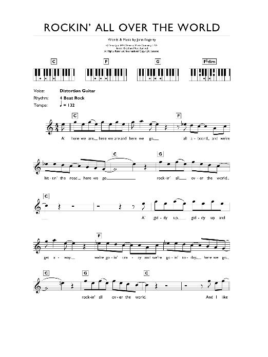 Sheet Music Digital Files To Print Licensed Status Quo Digital