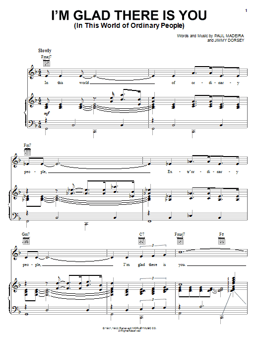 Sheet Music Digital Files To Print - Licensed Paul Madeira Digital ...