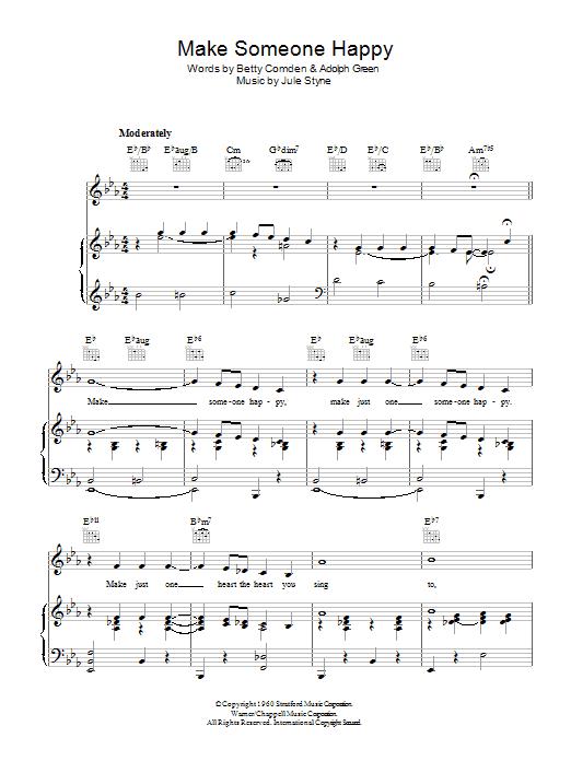 Jimmy Durante – Make Someone Happy Lyrics   Genius Lyrics