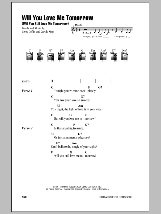 Sheet Music Digital Files To Print - Licensed Gerry Goffin Digital ...