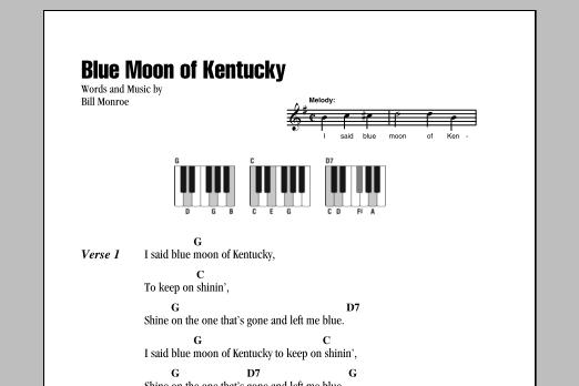 Sheet Music Digital Files To Print Licensed Bill Monroe Digital
