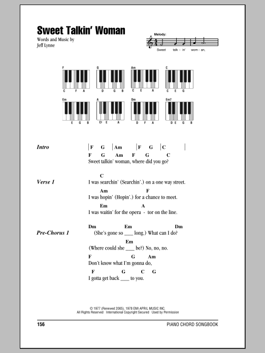 Sheet Music Digital Files To Print Licensed Electric Light
