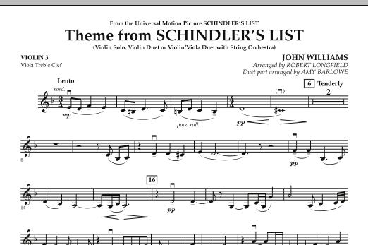 schindler list violin solo pdf