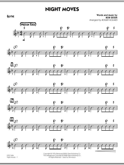 Sheet Music Digital Files To Print - Licensed Bob Seger Digital ...