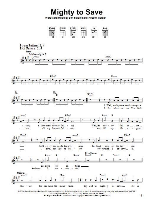 Emmanuel guitar chords