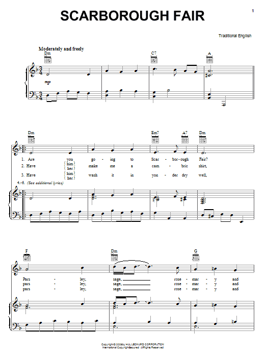 Sheet Music Digital Files To Print - Licensed Traditional English ...